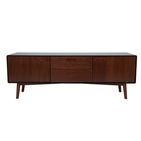 Dutchbone Buffet Juju Low bois brun 150x39.8x53cm