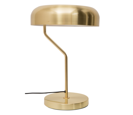 Dutchbone Eclipse brass gold metal table lamp Ø30x42cm