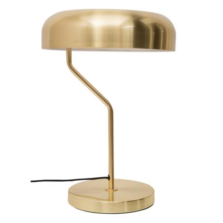 Dutchbone Lampe à poser Eclipse en laiton doré Ø30x42cm