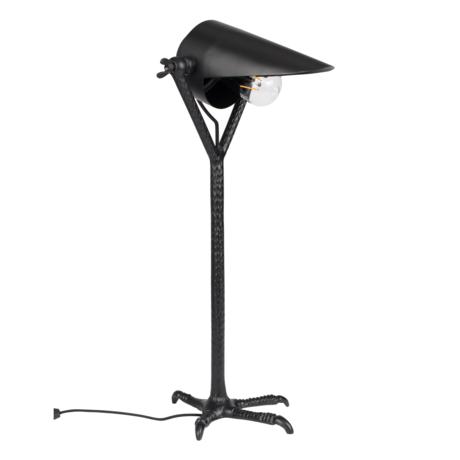 Dutchbone Falcon black metal table lamp 25x30x62cm