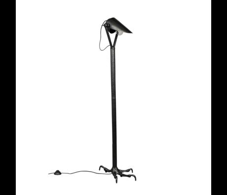 Dutchbone Lampadaire Falcon en métal noir 27x39.5x137cm