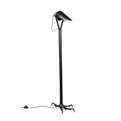 Dutchbone Falcon black metal floor lamp 27x39.5x137cm