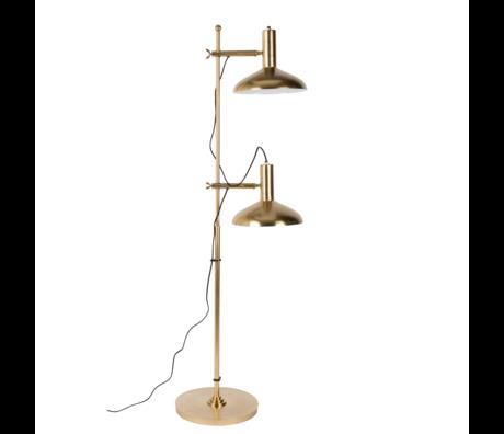 Dutchbone Stehleuchte Karish Messing Gold Metall 69x36x163cm