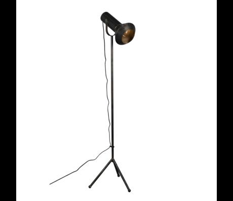 Dutchbone Floor lamp Vox black gold metal 20x40x158cm