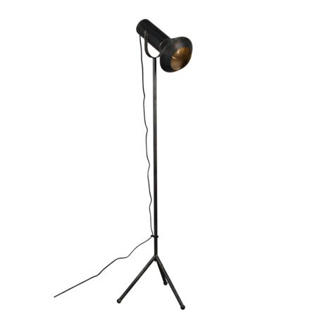 Dutchbone Stehleuchte Vox schwarz gold Metall 20x40x158cm