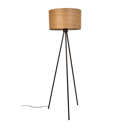 Dutchbone Stehleuchte Woodland braun schwarz Holz Metall Ø50x150cm