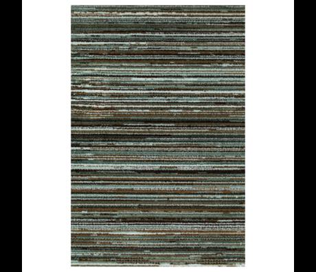 DUTCHBONE Carpet Keklapis green textile 200X300cm