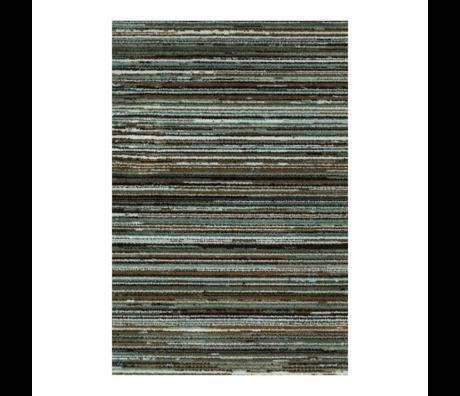 DUTCHBONE Teppich Keklapis grün Textil 170X240cm