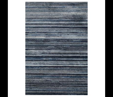 DUTCHBONE Vloerkleed Keklapis blauw textiel 200X300cm