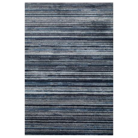 DUTCHBONE Tapis Keklapis bleu textile 200X300cm