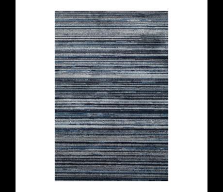 Dutchbone Vloerkleed Keklapis blauw textiel 170X240cm