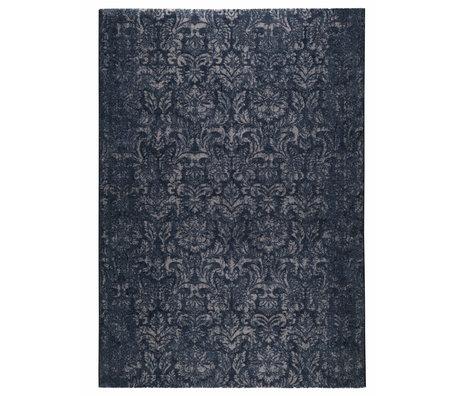 DUTCHBONE Teppich Stark blau Textil 200X300cm
