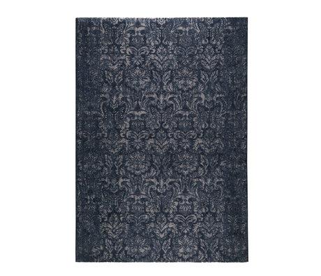 DUTCHBONE Teppich Stark blau Textil 160X230cm