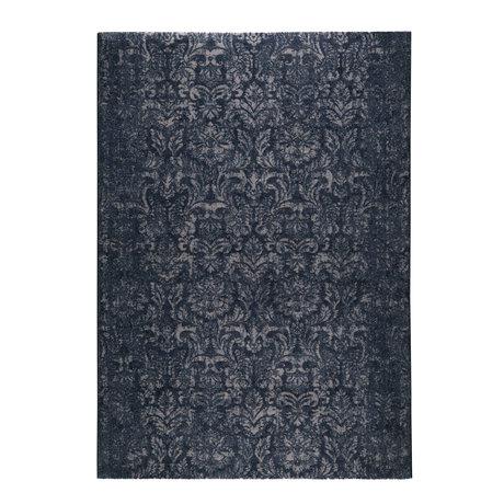 DUTCHBONE Tapis Stark bleu textile 160X230cm
