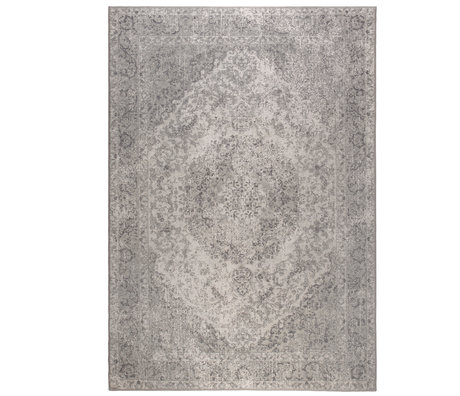 DUTCHBONE Rug Ravi gray textile 200X300cm