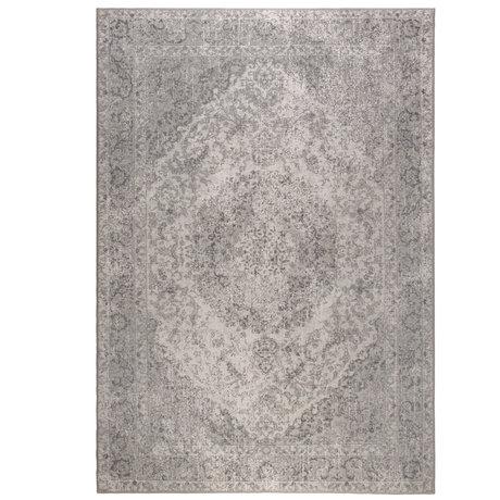 DUTCHBONE Tapis Ravi gris textile 200X300cm