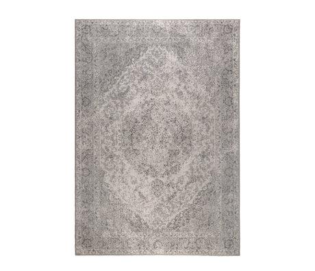 DUTCHBONE Teppich Ravi grau Textil 170X240cm