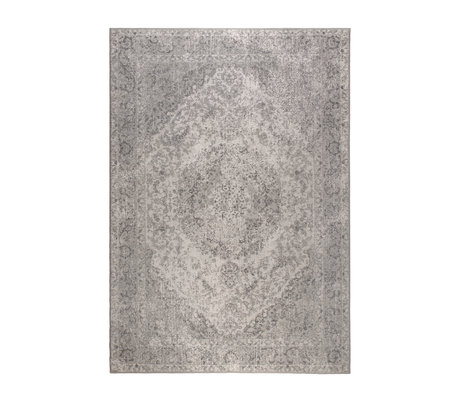 DUTCHBONE Vloerkleed Ravi grijs textiel 170X240cm