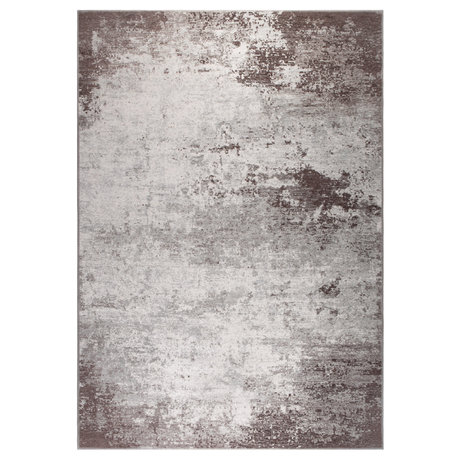 DUTCHBONE Caruso rug distressed brown textile 200X300cm