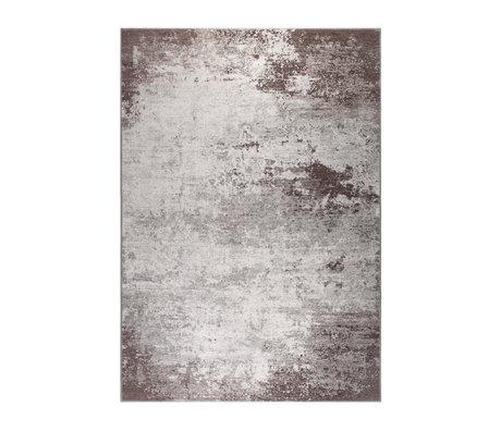DUTCHBONE Vloerkleed Caruso distressed bruin textiel 170X240cm
