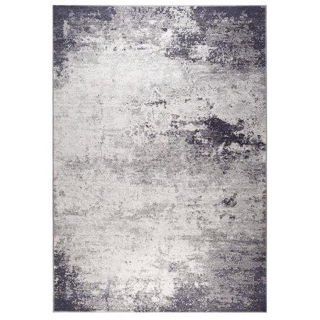 DUTCHBONE Caruso rug distressed blue textile 200X300cm