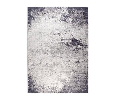 DUTCHBONE Caruso Teppich distressed blau Textil 170X240cm