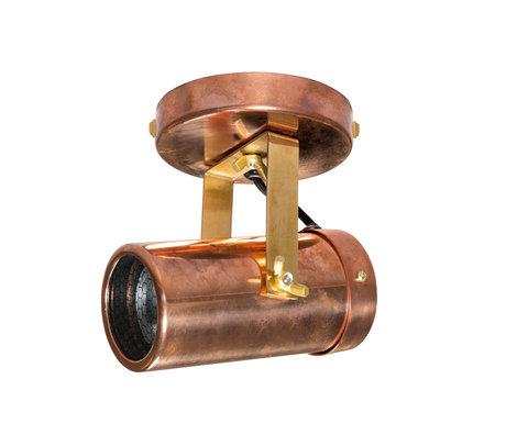 Dutchbone Spot Scope-1 DTW koper brass goud metaal 7,6x1,5cm