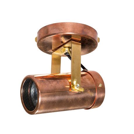 Dutchbone Spot Scope-1 DTW cuivre laiton laiton doré 7,6x1,5 cm