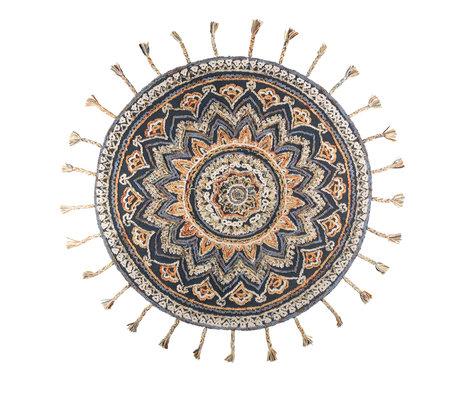 Dutchbone Vloerkleed Pix round textiel ø170cm