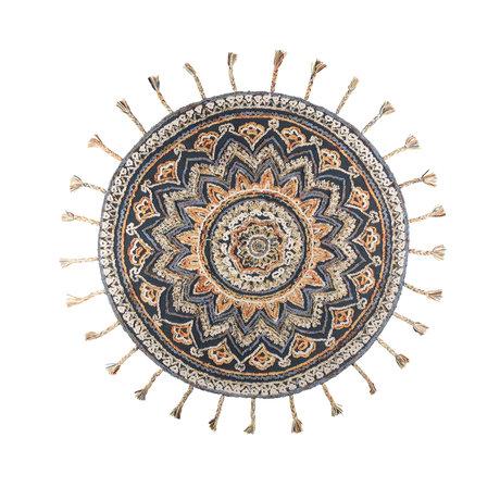 DUTCHBONE Tapis Pix rond textile ø170cm