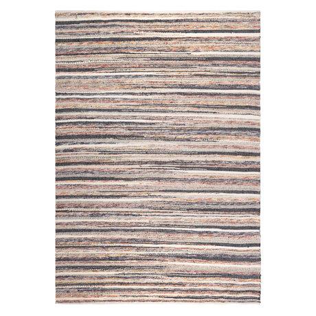 DUTCHBONE Schnitzen Sie mehrfarbigen Textilteppich 170X240cm