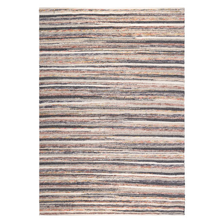 Dutchbone Tapis textile multicolore Carve 170X240cm