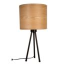 DUTCHBONE Tafellamp Woodland naturel bruin hout metaal 30x60cm