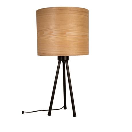 Dutchbone Table lamp Woodland natural brown wood metal 30x60cm