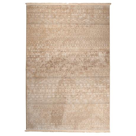 Dutchbone Tapis Shisha Brun Textile Forêt 200X295cm