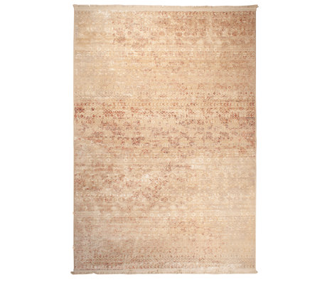DUTCHBONE Teppich Shisha braun Textil Wüste 200X295cm