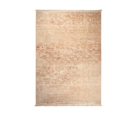 Dutchbone Tapis Shisha textile marron désert 160X235cm
