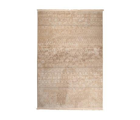 Dutchbone Teppich Shisha braun Textilwald 160X235cm