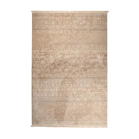 Dutchbone Vloerkleed Shisha bruin textiel forest 160X235cm