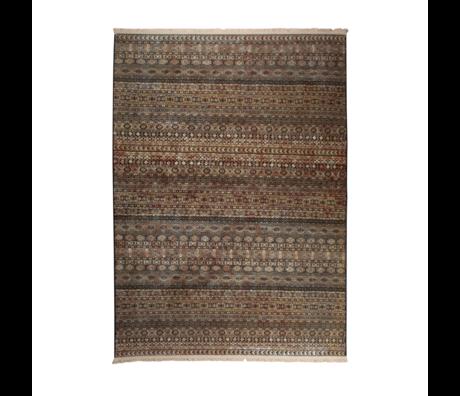 DUTCHBONE Vloerkleed Shisha bruin textiel cave 160X235cm