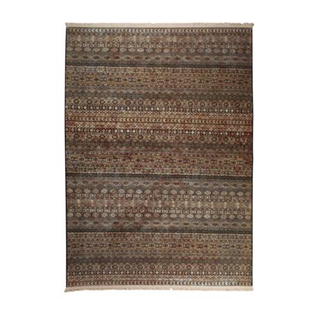 DUTCHBONE Rug Shisha brown textile cave 160X235cm
