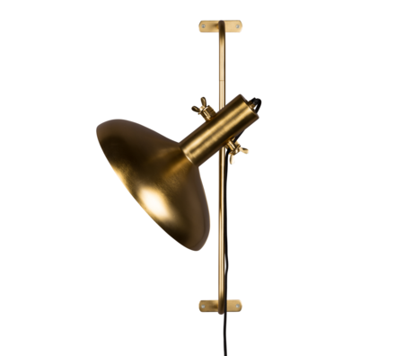 Dutchbone Wandleuchte Karish Messing Gold Metall 28,5x40,5x61 cm