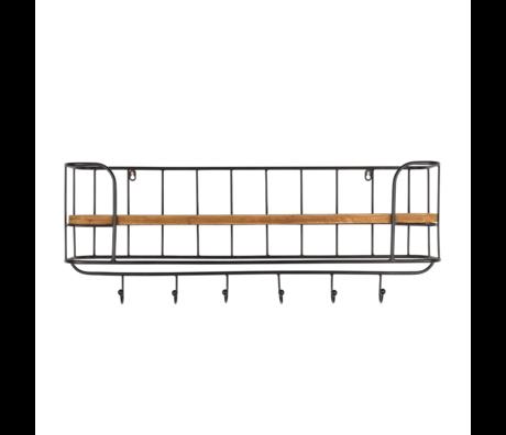 DUTCHBONE Kleiderständer Stack Holz Metall 85x20x32cm