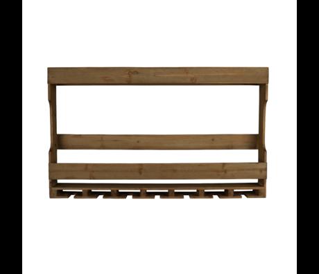 Dutchbone Wand kast Tres bruin hout 80x11x48cm