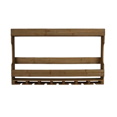 DUTCHBONE Wandschrank Tres braunes Holz 80x11x48cm