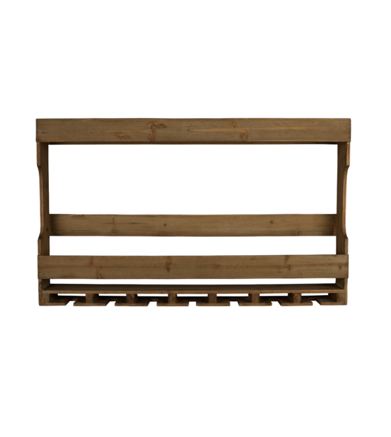 Wand Kast Tres Bruin Hout 80x11x48cm