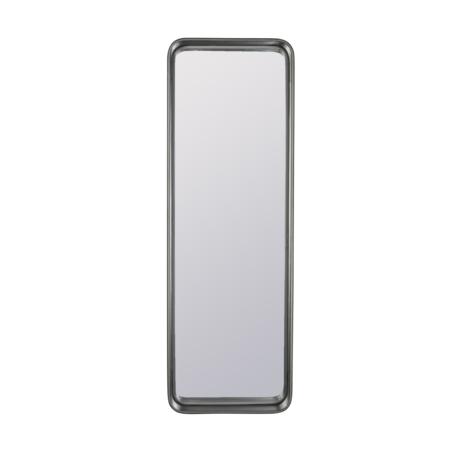 Dutchbone Spiegel Bradley grijs gepoedercoat metaal 40x10x120cm