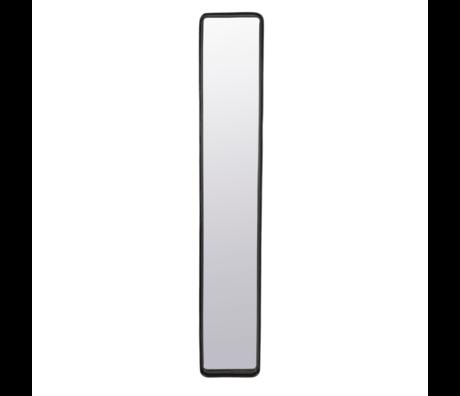 Dutchbone Miroir Blackbeam métal enduit ciré 20x4x120cm