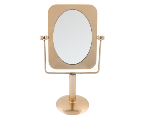 Dutchbone Mirror Pris brass gold metal 23.7 x 13.3 x 39.5 cm