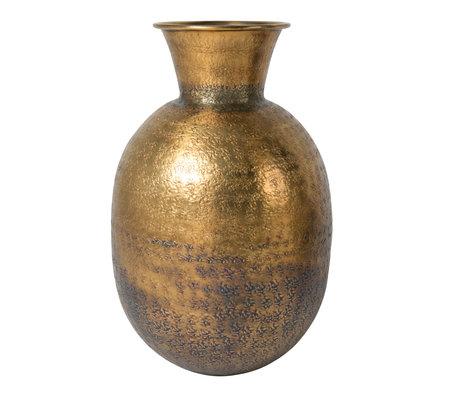 Dutchbone Vase Bahir laiton antique doré ø24x38cm